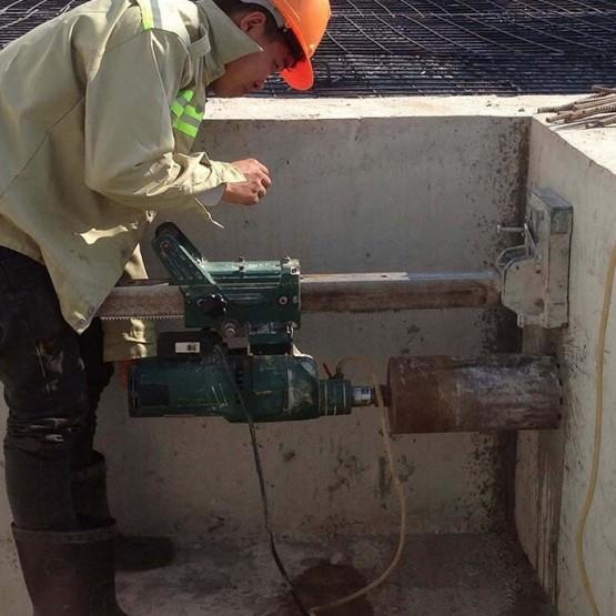 Preparing and executing foundation in Bu Dop