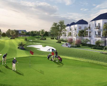 Long An: Sức hút từ biệt thự nghỉ dưỡng sân golf phía Tây Sài Gòn