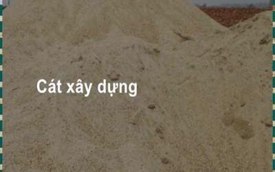 Giá cát xây dựng số lượng lớn