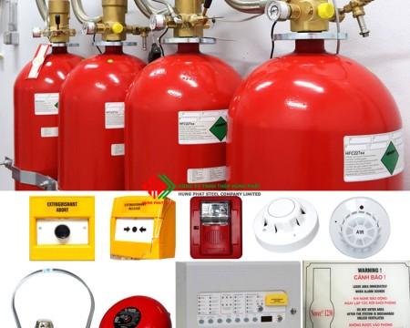 Hệ thống chữa cháy Novec 1230 khí sạch