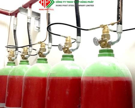 Hệ thống chữa cháy khí Nitơ N2 – IG100