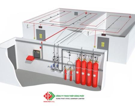 Hệ thống chữa cháy FM-200 tiêu chuẩn