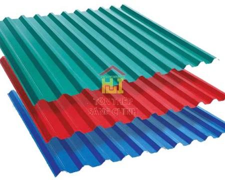 Bảng giá tôn màu từ Kho thép Sáng Chinh năm 2021