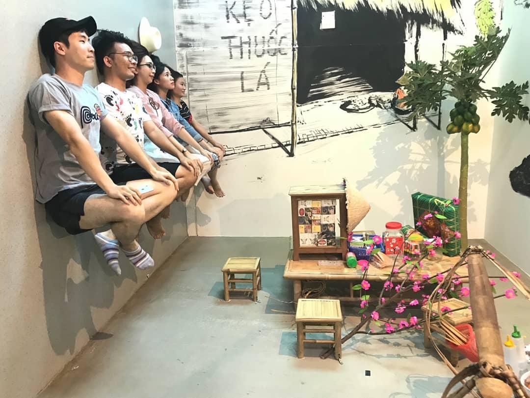 Ngôi nhà úp ngược và những điểm khám phá mới ở Vũng Tàu