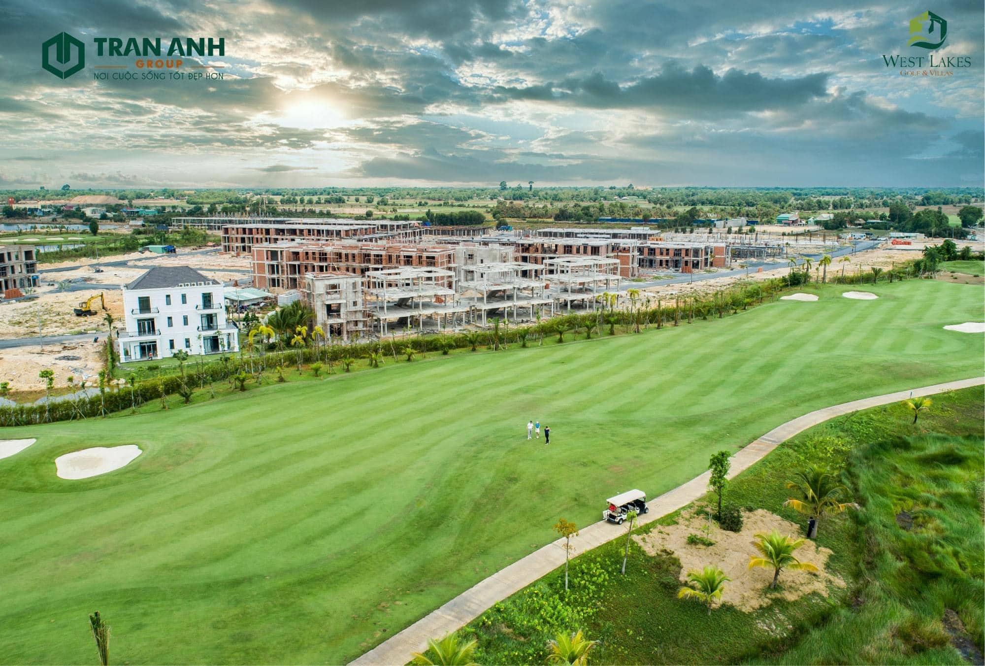 Đô thị sân Golf West Lakes – Bài toán thông minh cho các nhà đầu tư tại Long An