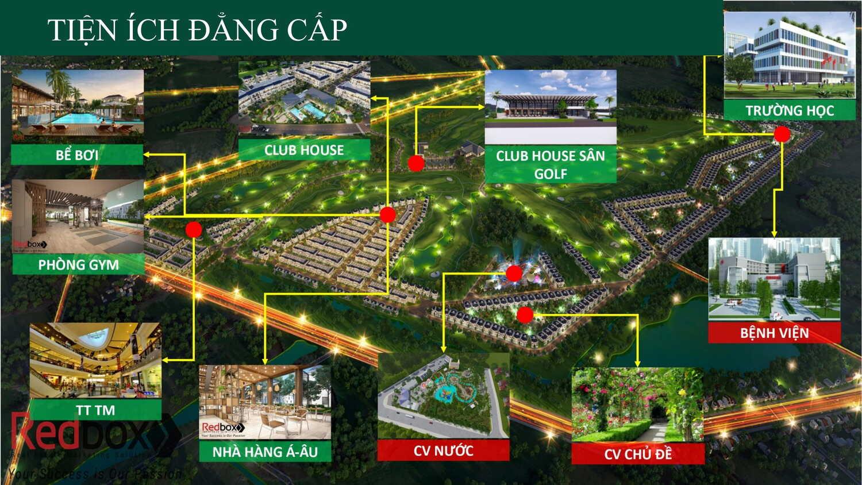 Biệt thự sân golf West Lakes Golf & Villas – Nơi nghỉ dưỡng đẳng cấp số 1 Long An