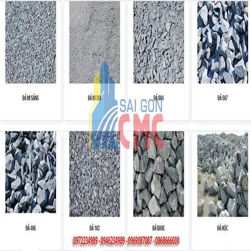 Giá đá xây dựng số lượng lớn