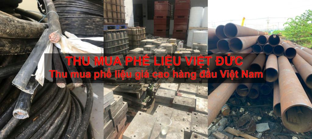 Công ty thu mua phế liệu Việt �ức